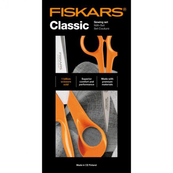 FISKARS Classic általános olló (21 cm) & varróolló (13 cm)