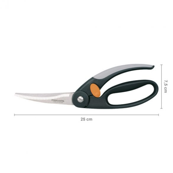 FISKARS Functional Form baromfi olló (25 cm)