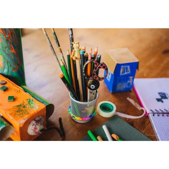 FISKARS Gyermek olló (13 cm) katica