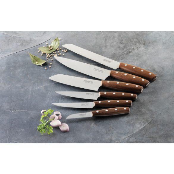 FISKARS Norr paradicsomszeletelő/ steak kés (12 cm)