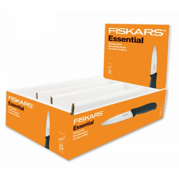 FISKARS Essential ömlesztett hámozókés (10 cm)