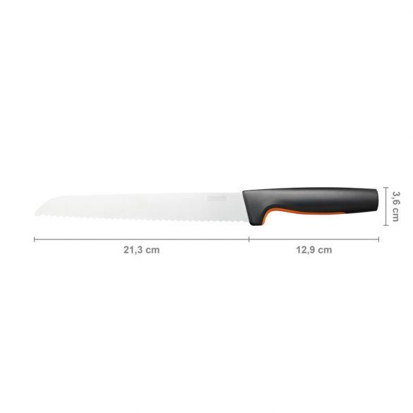 FISKARS Functional Form kenyérvágó kés (21 cm) new