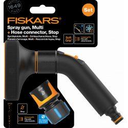 """FISKARS Comfort 5 funkciós öntözőfej + gyorscsatlakozó 13 mm (1/2"""") STOP"""