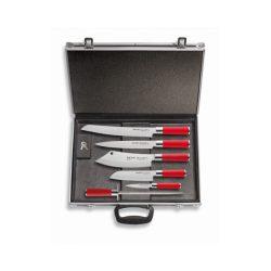 DICK Red Spirit késkészlet, 5 késsel, mágneses késtartó táskában