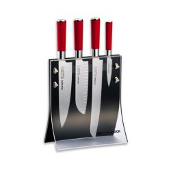 DICK Red Spirit Acryl késblokk, 4 késsel